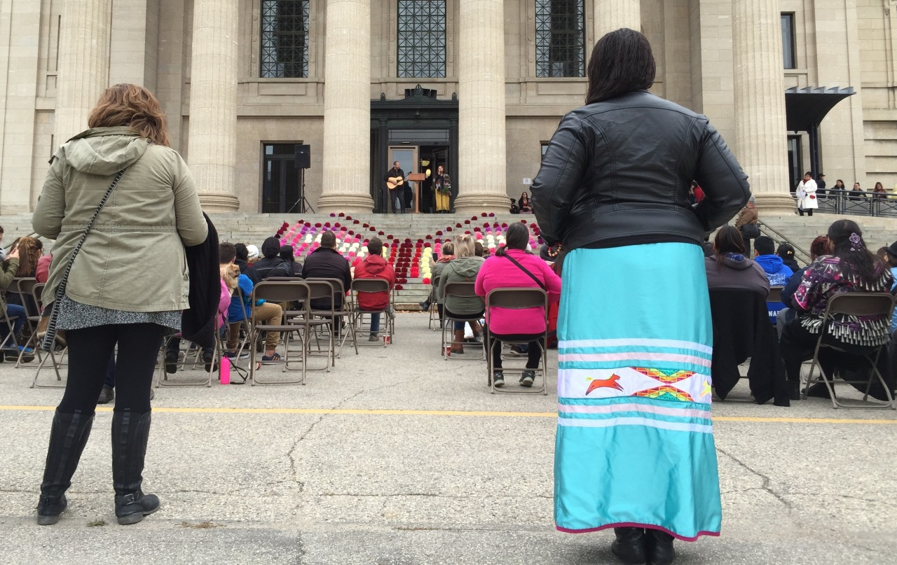 A rally on the steps of the Manitoba Legislature October 4th called attention to the 1,200 Missing and Murdered Indigenous Women. Canada's election day is October 19 and many Native groups are hoping a strong turnout will result in a national investigation and proposed solutions.